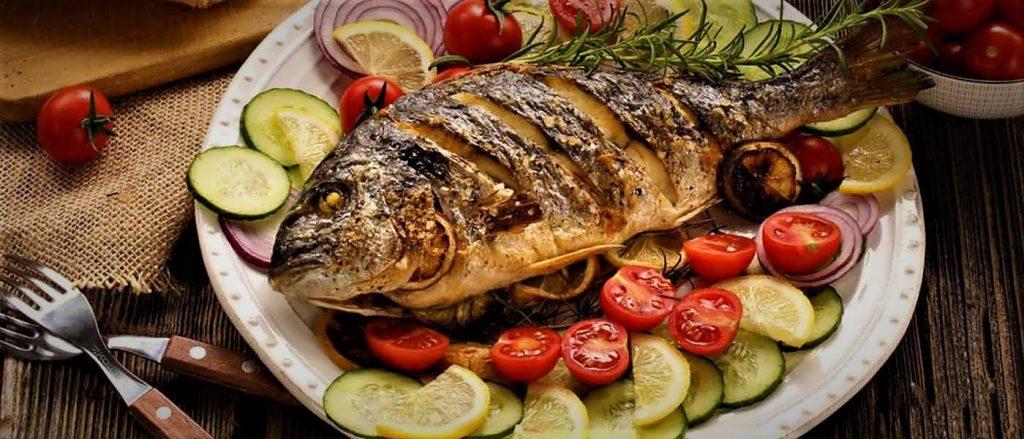 طرز تهیه ماهی در فر