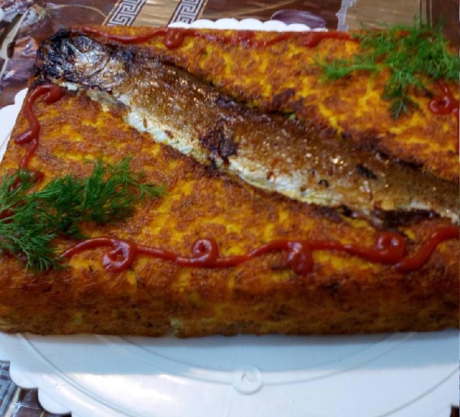 ته چین ماهی قزل آلا