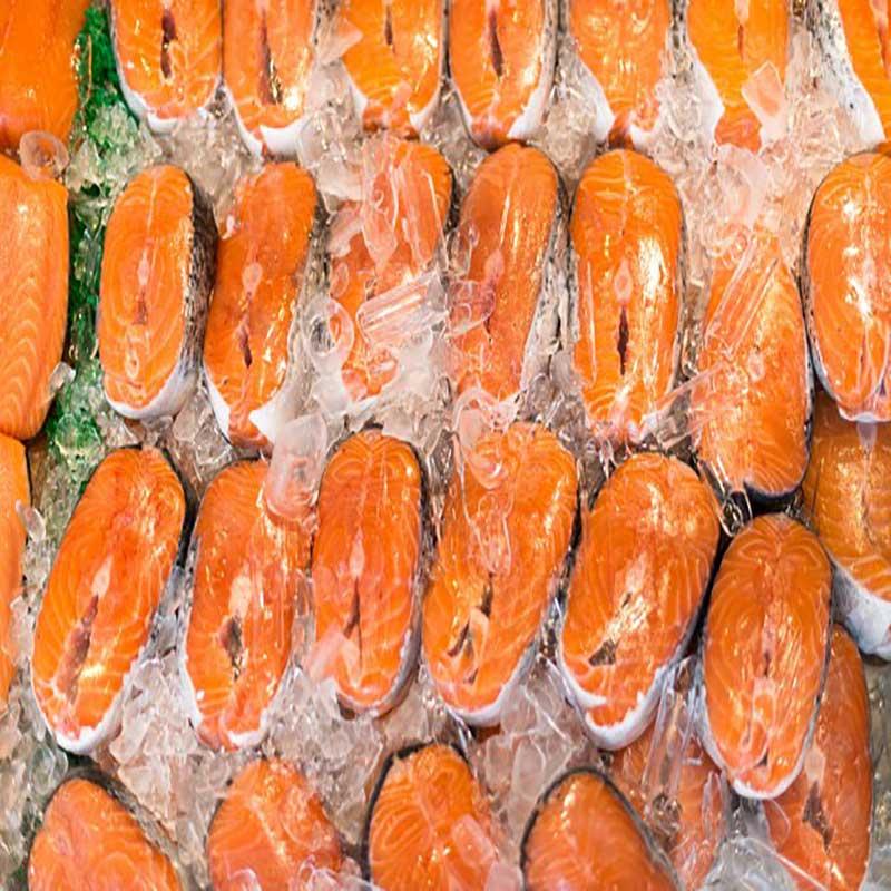 نگهداری ماهی در فریزر