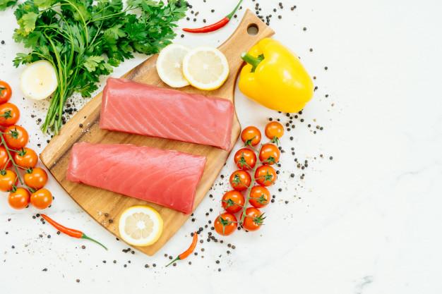 پاک کردن ماهی تازه