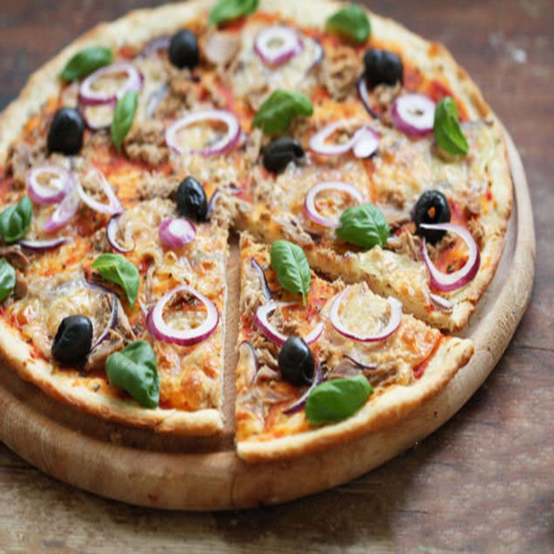 پیتزا ماهی