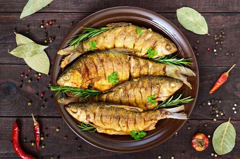 روش پخت ماهی