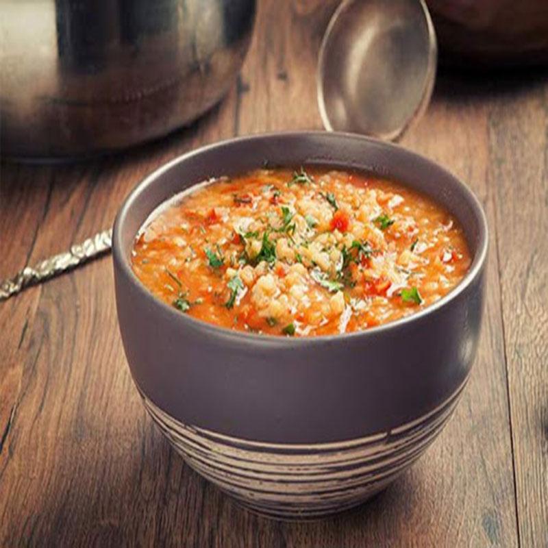 سوپ ماهی شیر