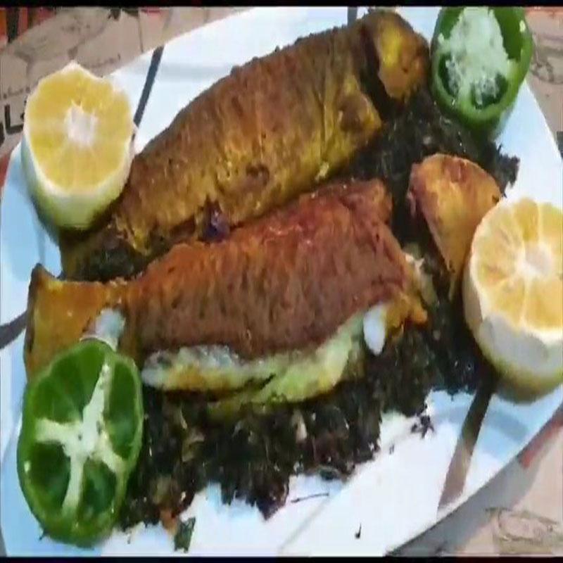 طرز تهیه ماهی راشگو شکم پر