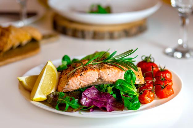 مصرف ماهی و میگو