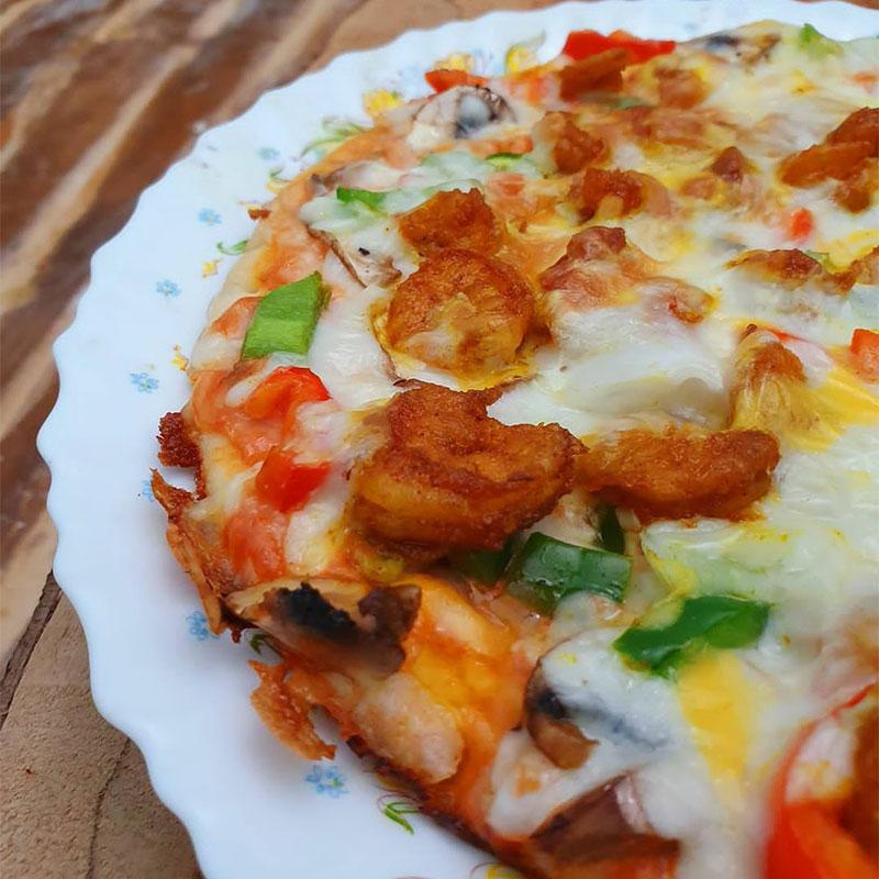 پیتزای میگو