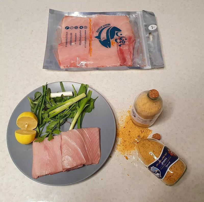 طرز پخت ماهی سکن