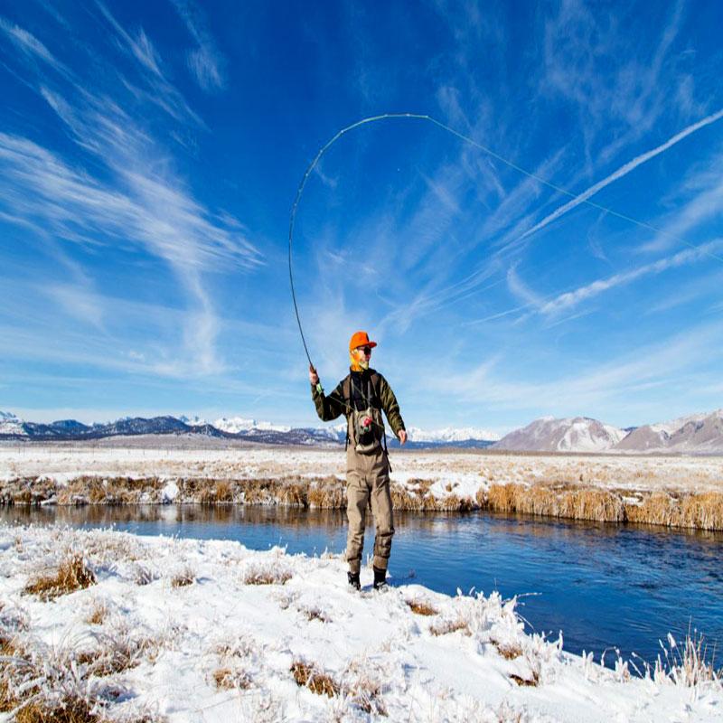 ماهیگیری در زمستان
