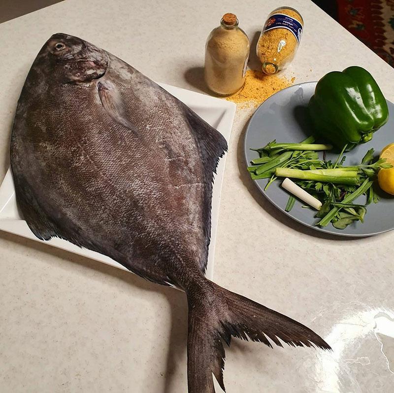 فروش ماهی حلوا سیاه